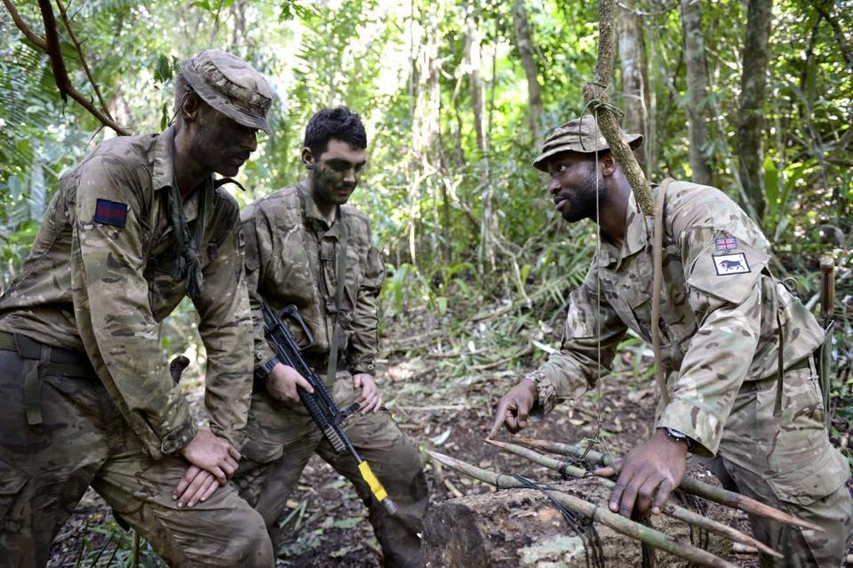 Coldstream Guards Learn How To Stay Alive In The Jungle