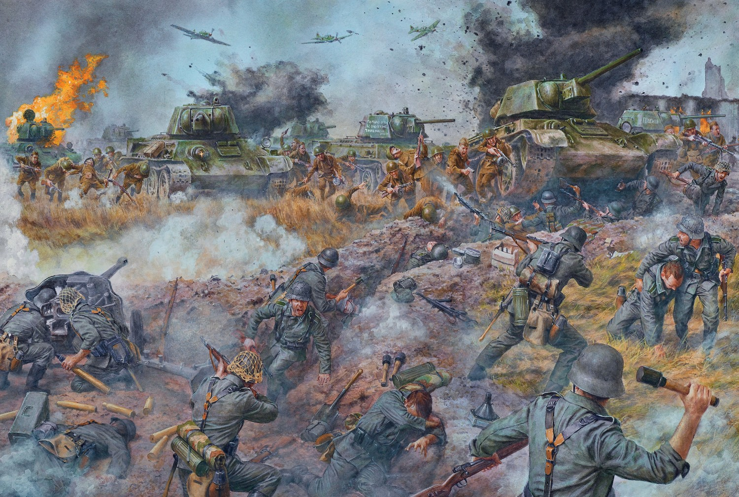 Battle Of Kursk: The Clash Of The Tanks
