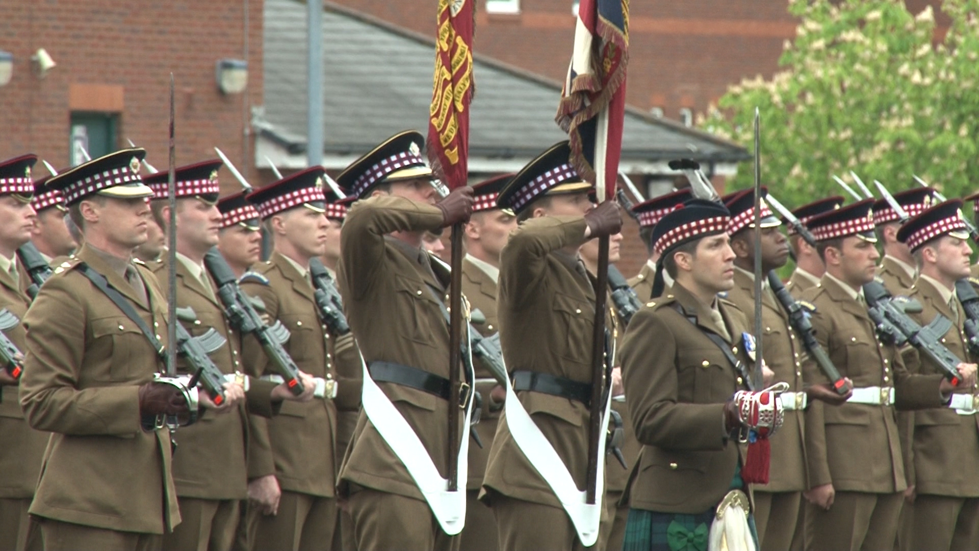 scots guards ready for appointment with the queen