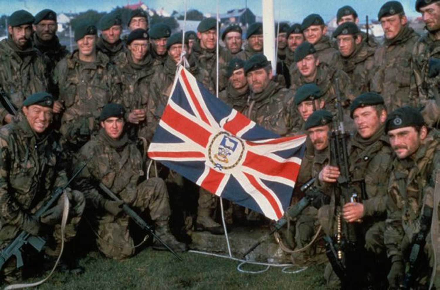 From Our Archive Who Are The Royal Marines 1982