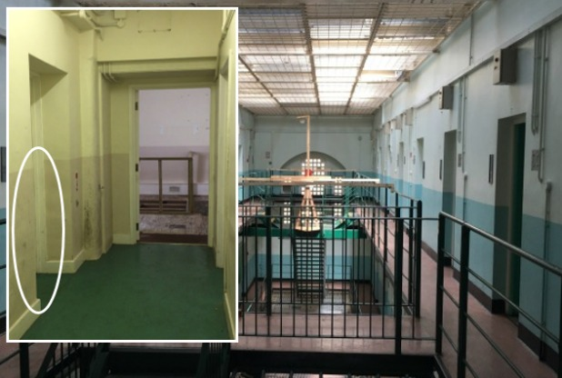 shepton mallet prison    ghost  military glasshouse execution room