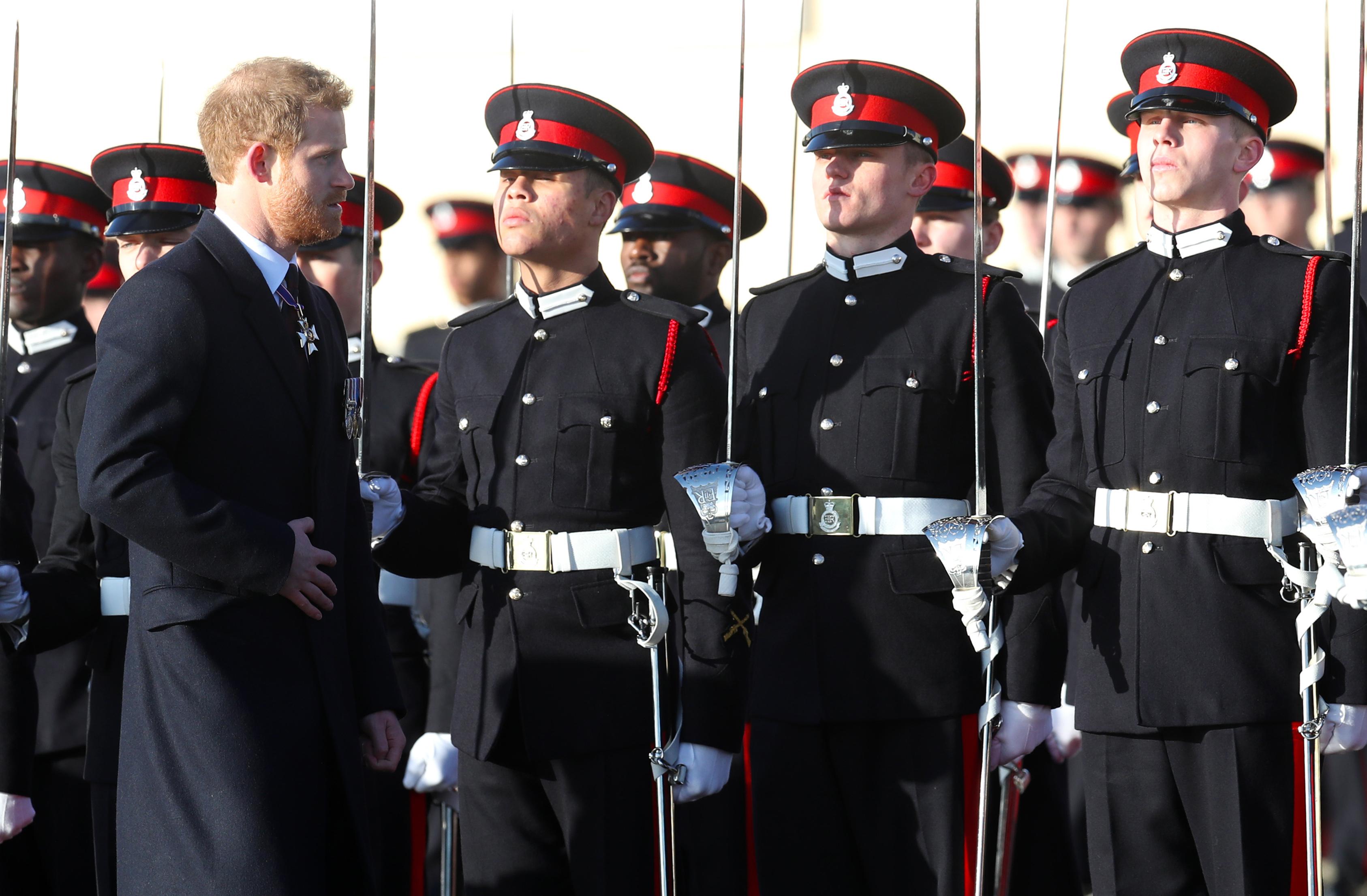 Prince Harry Makes A Triumphant Return To Sandhurst