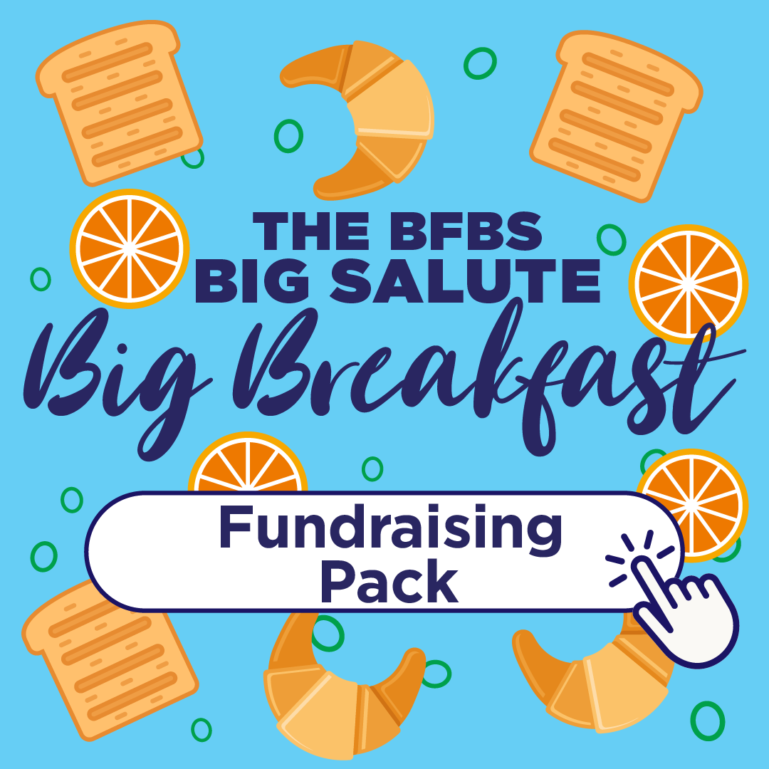 BFBS Big Salute Big Breakfast Fundraising Pack Promo Shot