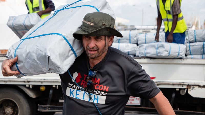 Team Rubicon UK deploys to Buzi district of Mozambique
