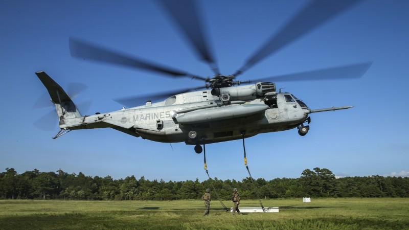 US Marine Helicopter In Okinawa Loses Windshield Over School