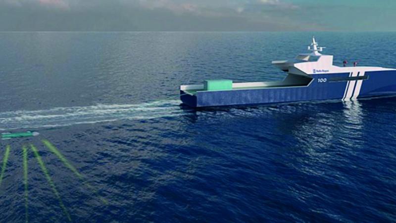 Rolls-Royce Unveils Autonomous Naval Vessel Concept