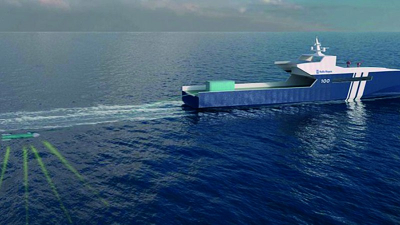 Rolls-Royce plans autonomous ship