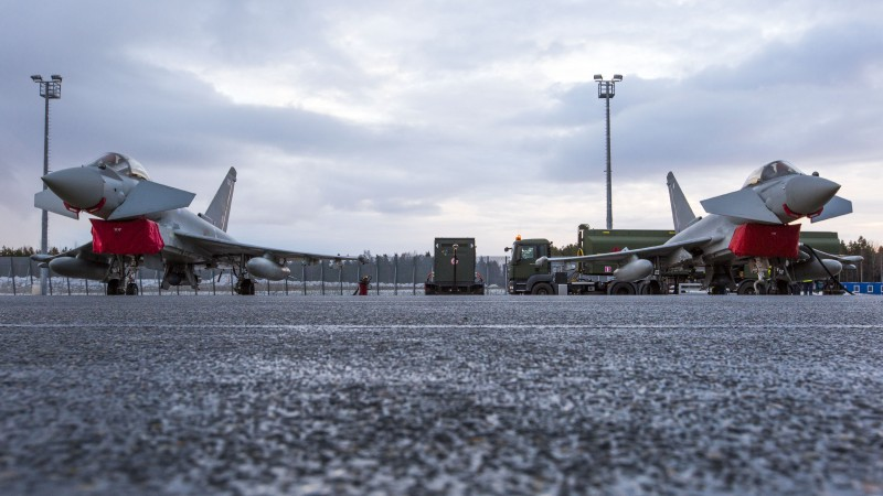 BAE Systems just sold £5bn of Typhoon jets to Qatar