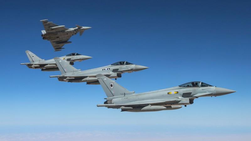 RAF Jets Scramble To Intercept Russian Bombers