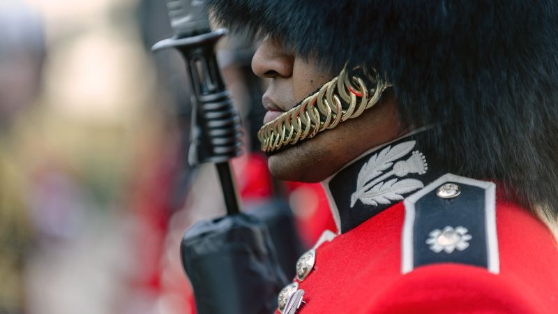 Welsh Guards on parade. Credit: Cpl Timothy Jones, Crown Copyright