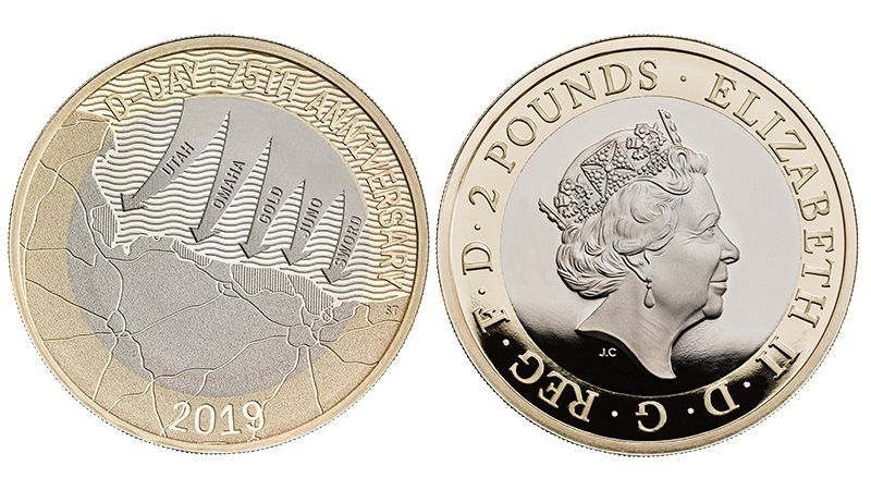 New Coin Commemorates 75th Anniversary Of D-Day Landings
