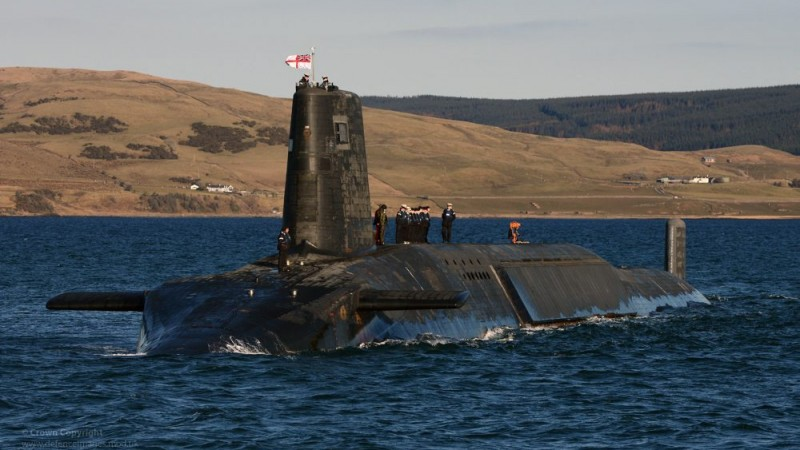 HMS Trident is protected by Ministry of Defence Police.