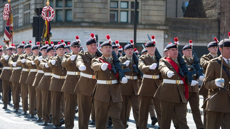 get ready for Remembrance Sunday Royal Regiment of Fusiliers tie