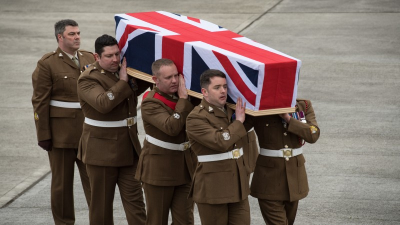 Brize norton repatriation- Dean Sprouting