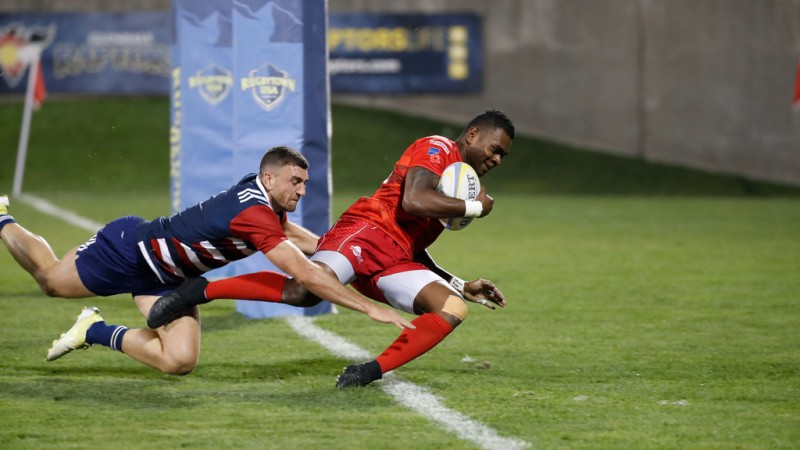 British Army Rugby in action during the 2018 RugbyTown 7s