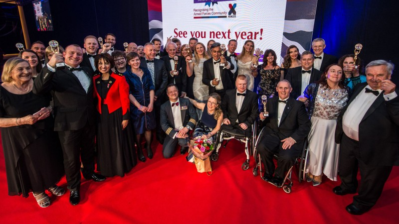 Soldiering On Awards 2018 Winners