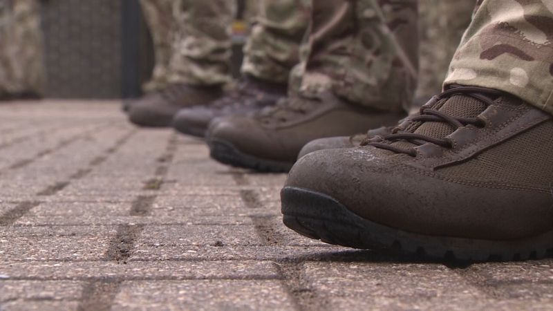 Anonymous anon Army boots and legs 270720 CREDIT BFBS