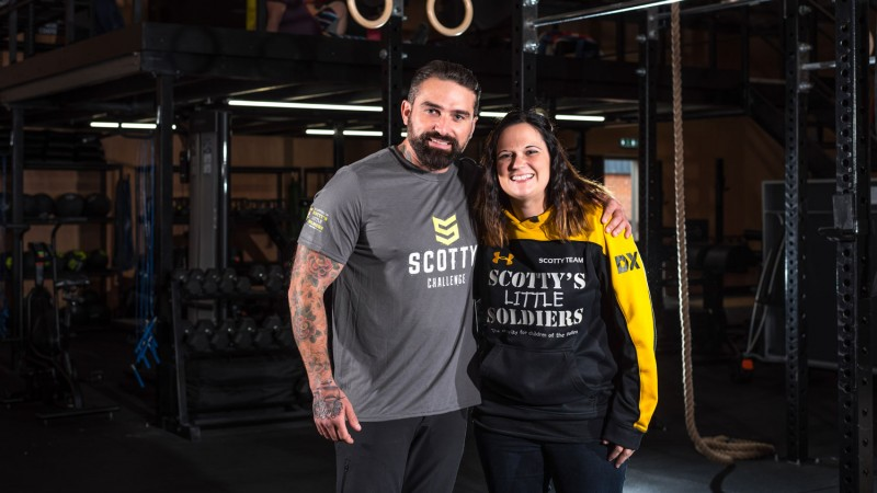 Ant Middleton Gets 'Crossfit' For Bereaved Military Children