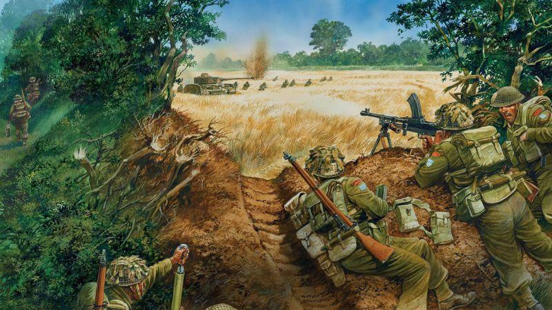 Brits, Fritz & Yanks – Allied & German WW2 Infantry Tactics