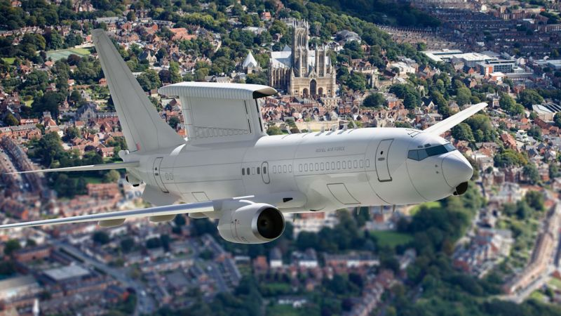 Artist's impression of E7 Wedgetail aircraft 220319 CREDIT RAF.jpg
