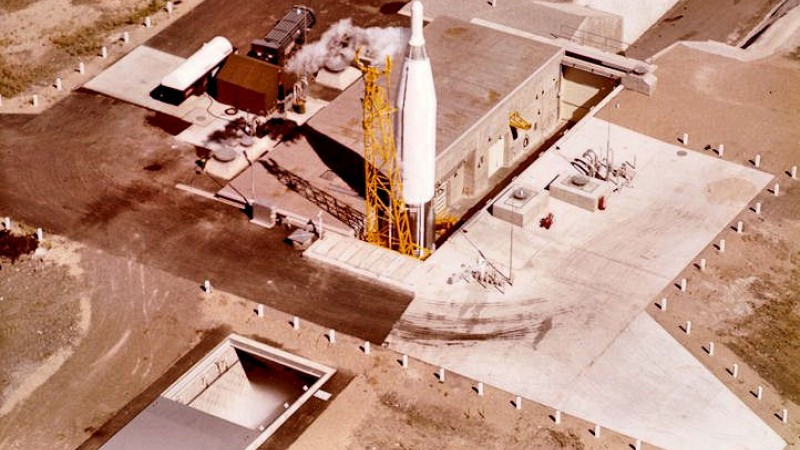 US Cold War missile silo