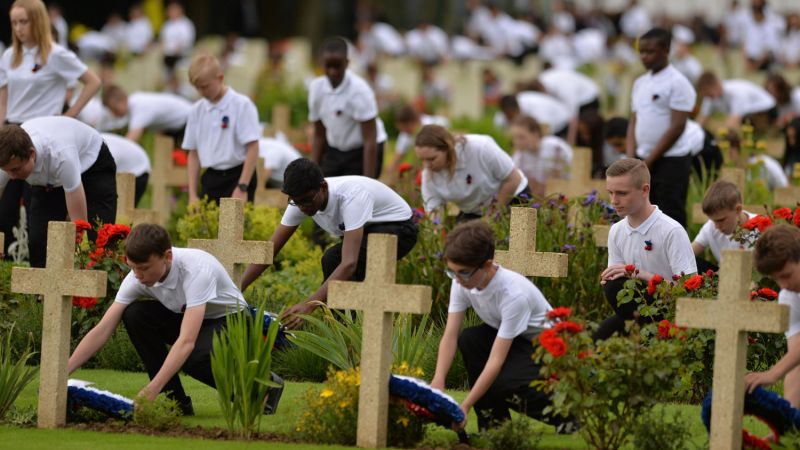 Somme Centenary Honoured In Britain And France