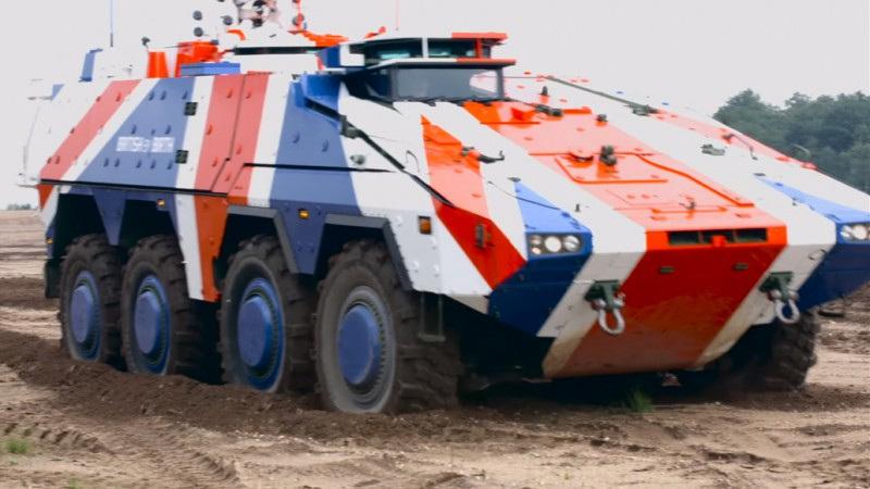 Boxer Armoured Fighting Vehicle PICTURE Rheinmetall Defence2