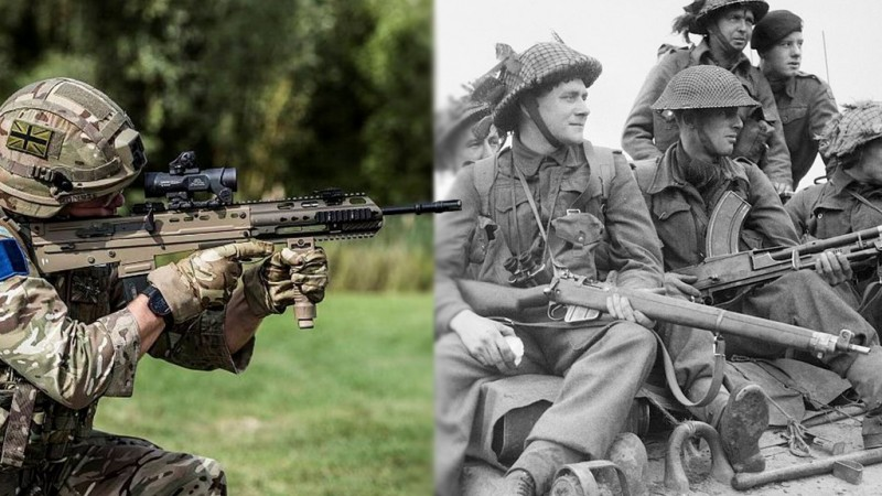 British Combat Rifles Through the years