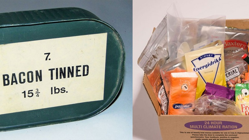 British military rations through the ages