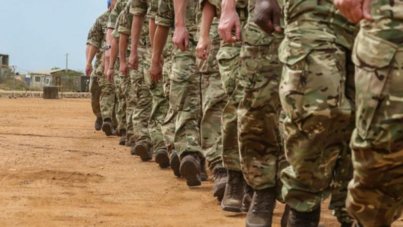 British troops in South Sudan 020517 CREDIT MOD