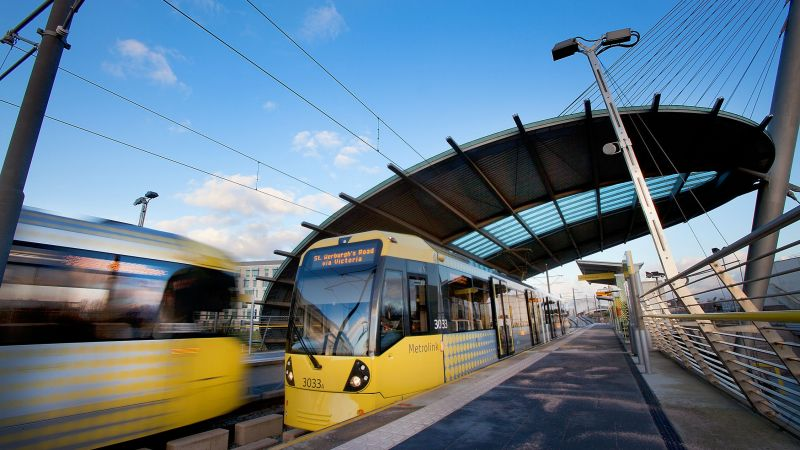 Manchester Metrolink photo courtesy of TfGM