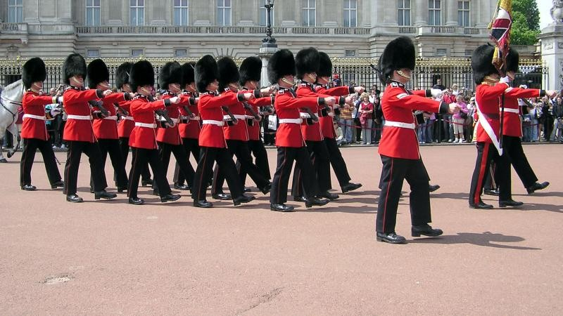 Changing Of The Guard Cancelled To 'Redeploy Police'