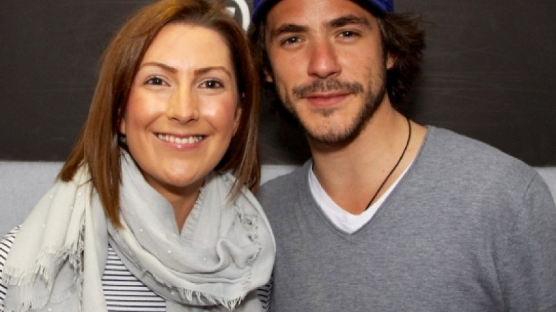 Charlene Guy and Jack Savoretti