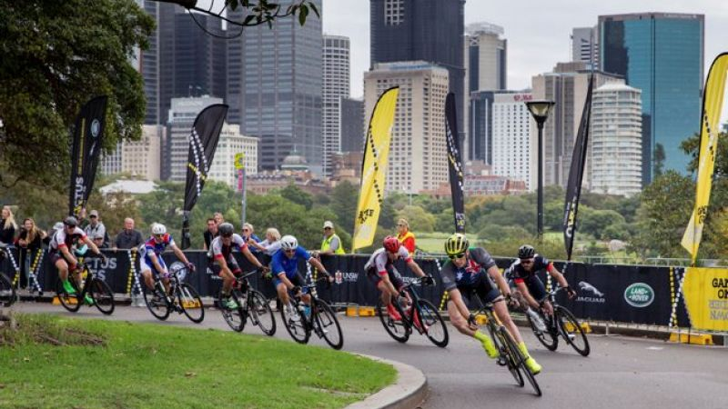 Cyclists competing at 2018 Invictus Games in Sydney Australia