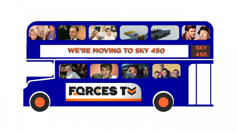 Forces TV Moves To Sky Channel 450