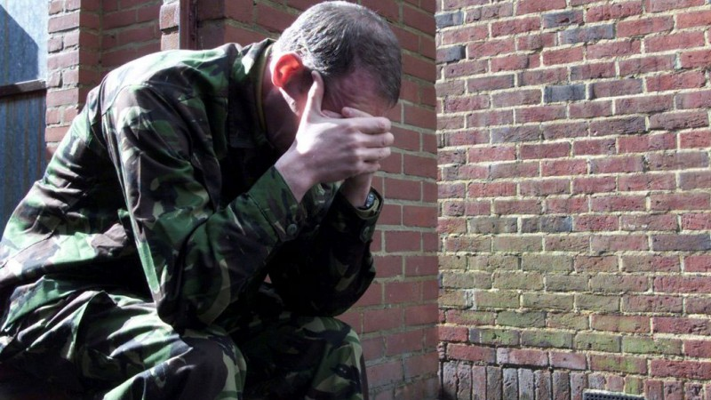 Depressed Soldier Defence Imagery DNI