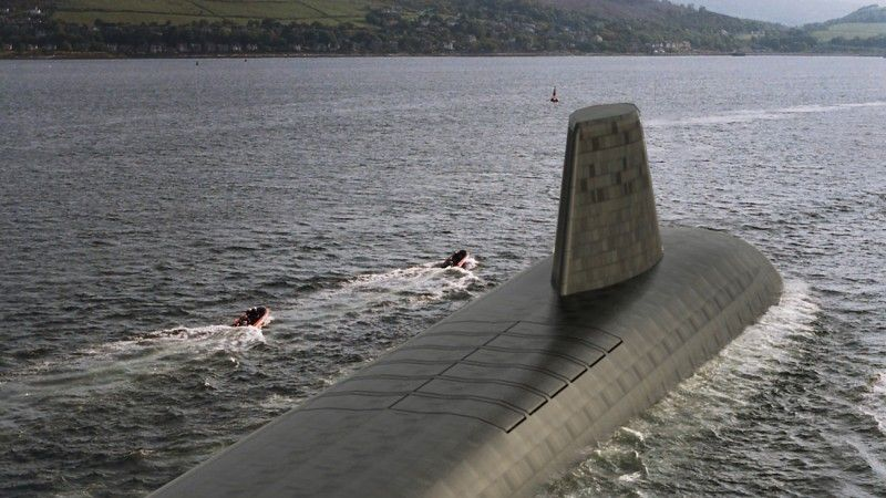 Dreadnought Class submarines. Crown Copyright MOD