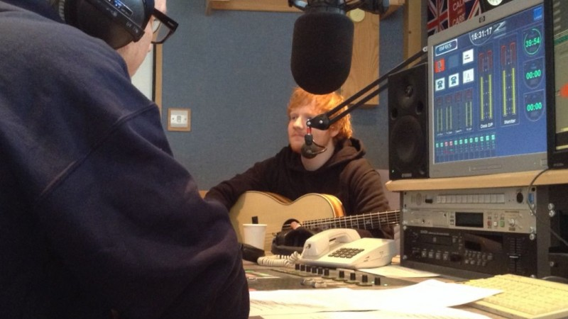 Ed Sheeran in Studio 2