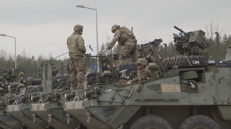 NATO troops in Poland