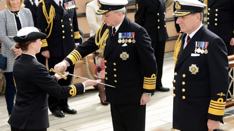 Meet The Naval Service's New First Sea Lord