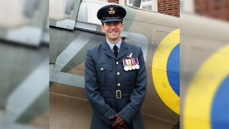 Flight Lieutenant Barrie John Doherty (Picture: RAF College Cranwell).