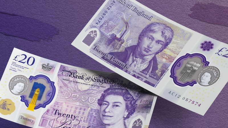 Royal Navy History Depicted On New £20 Note