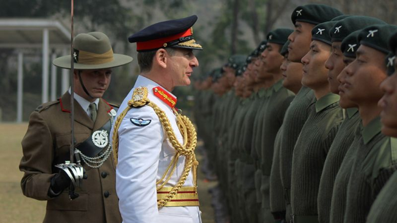 Army Chief Inspects More Than 400 New Gurkhas In Nepal