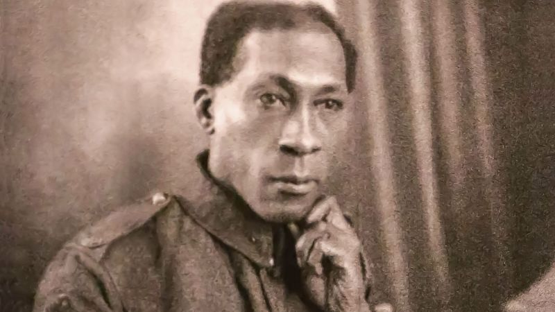 George Arthur Roberts WW1 Soldier Middlesex Regiment Civil Rights Campaigner Firefighter WW2 Credit: George Arthur Williams Family