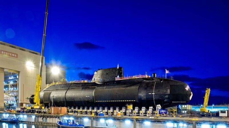 HMS Audacious (Credit Royal Navy).