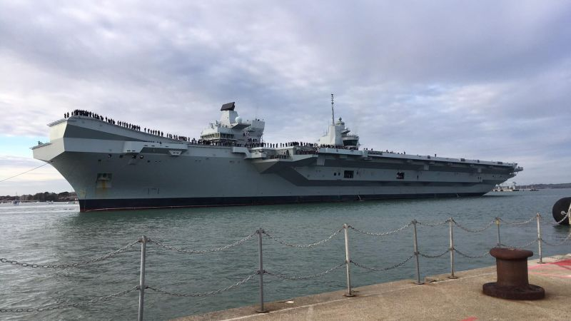 HMS Queen Elizabeth homecoming