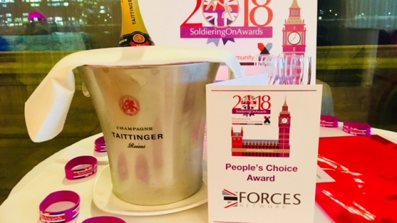 Soldiering On Awards 2018