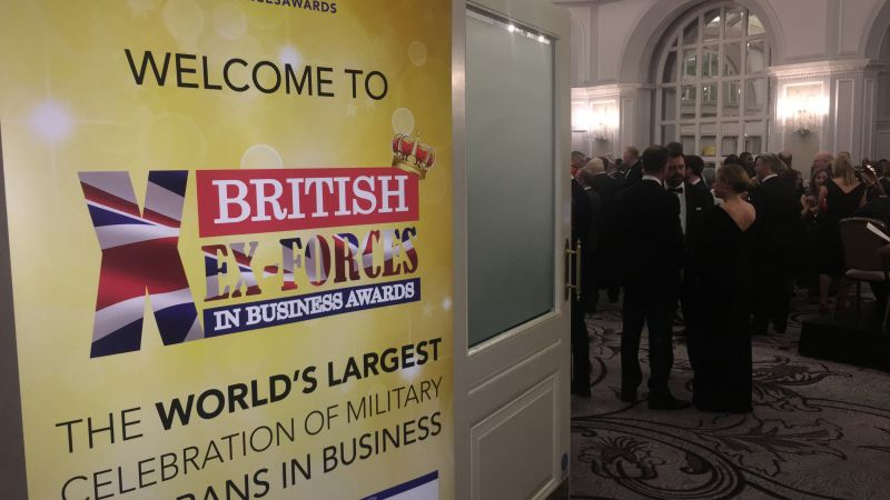 Winners Revealed: British Ex-Forces In Business Awards 2019