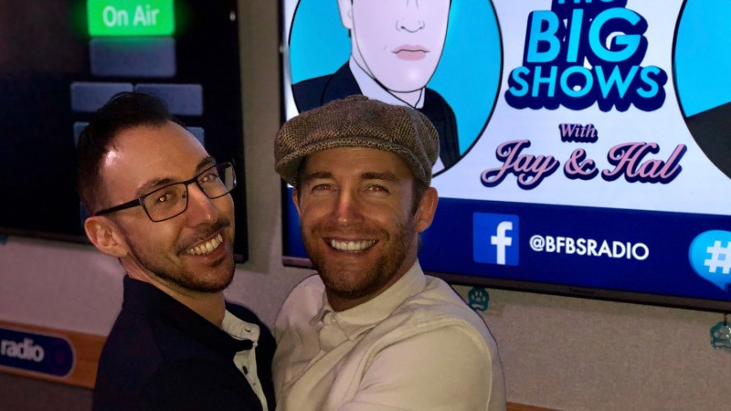 Jay James Hal Stewart Forces Radio BFBS Big Shows Big Reunion