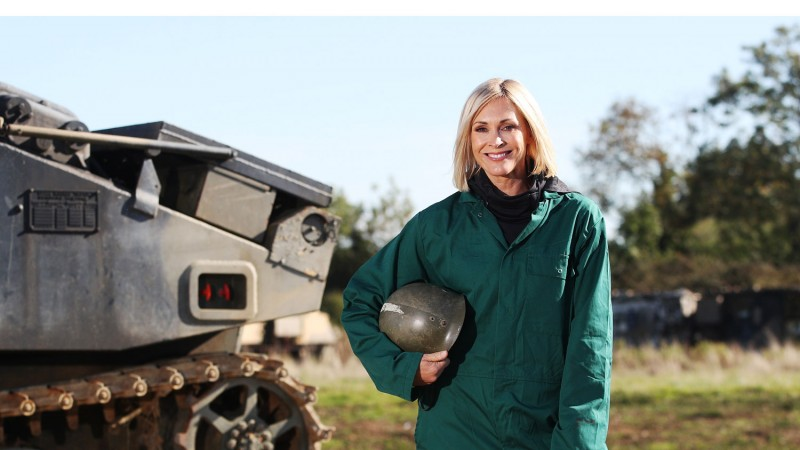 On Track With Jenni Falconer Tank Forces Radio BFBS DAB+